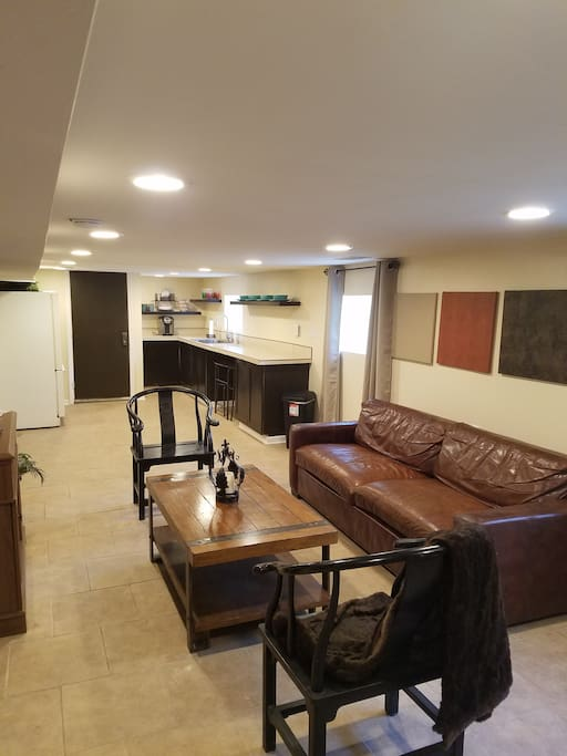 Living Space (open concept)