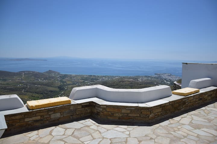 Family House with great view 4+ - Triantaros - Dom
