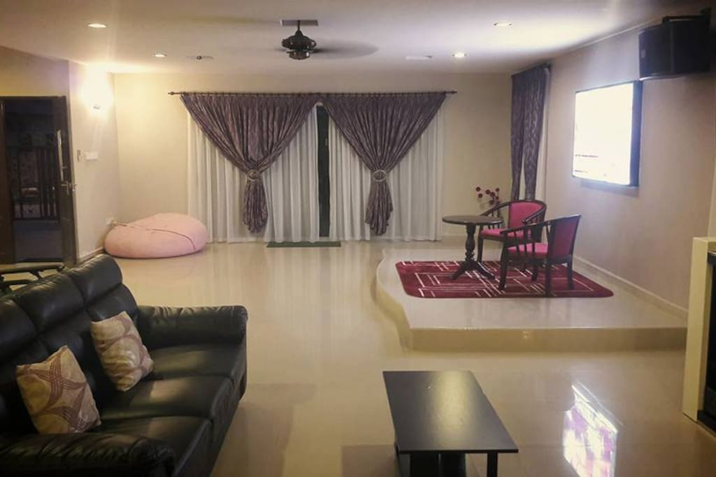 Big Hall With mini stage