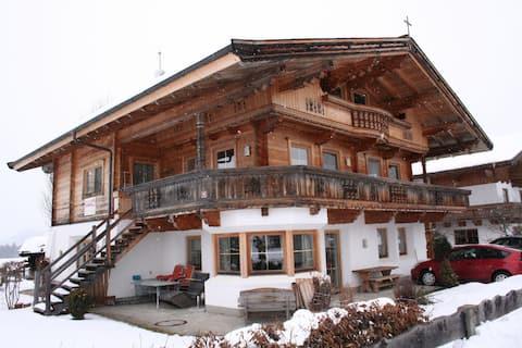 Appartement avec jardin près des pistes dans le Tyrol