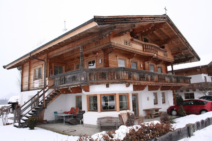Spacious Apartment with Garden near Ski Area in Tyrol