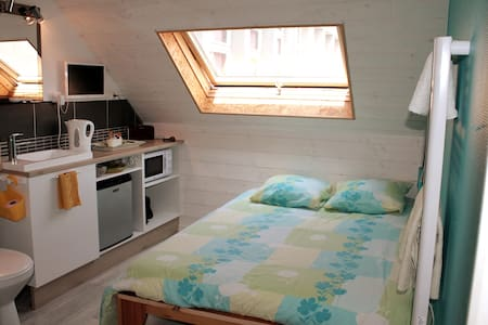 La cabine du pont tournant, jolie chambre de bonne