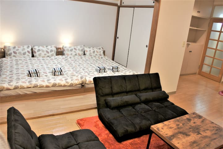 Cozy place in Shinagawa&HND Airport+WIFI MAX 10 PP - Shinagawa