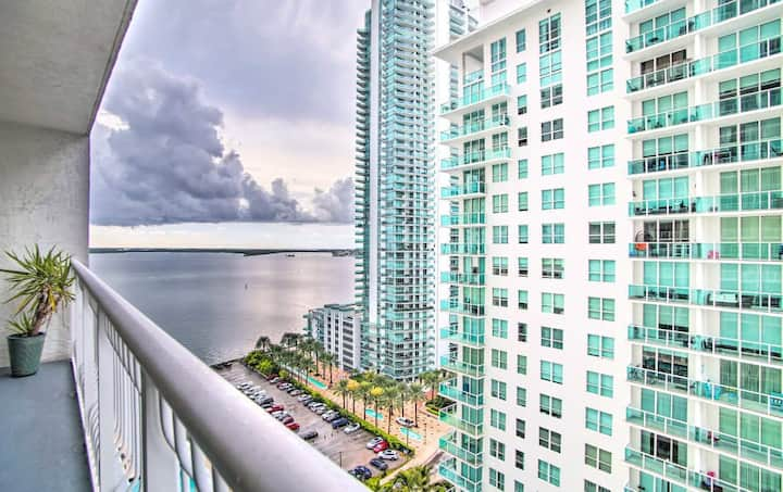 *2 BEDROOM Condo @BRICKELL with Pool*