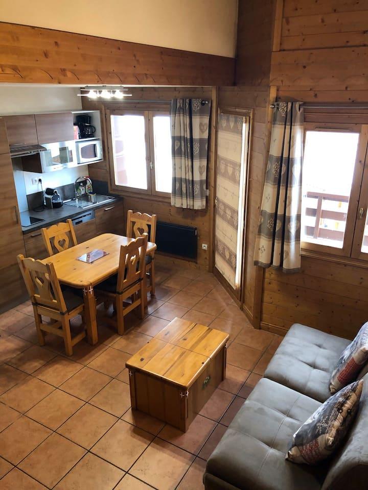 Duplex 2 chambres  La Plagne