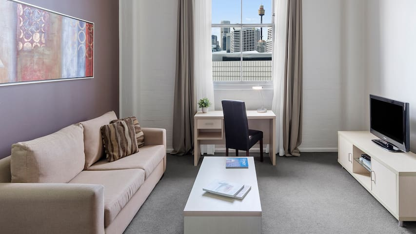 Modern 1 Bed Apartment near Darling Harbour