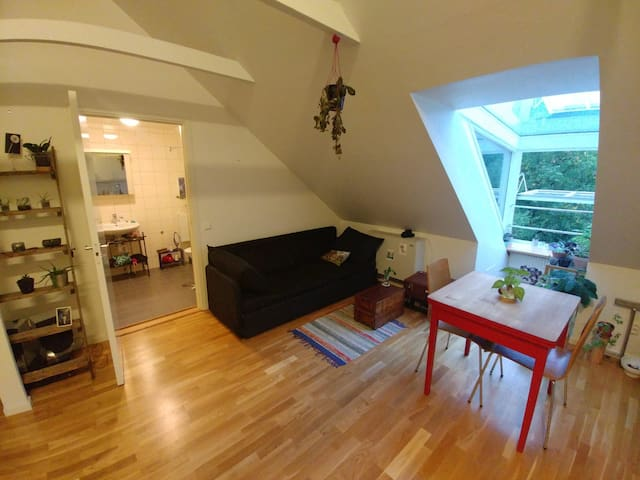 Lovely attic in the center of Gothenburg