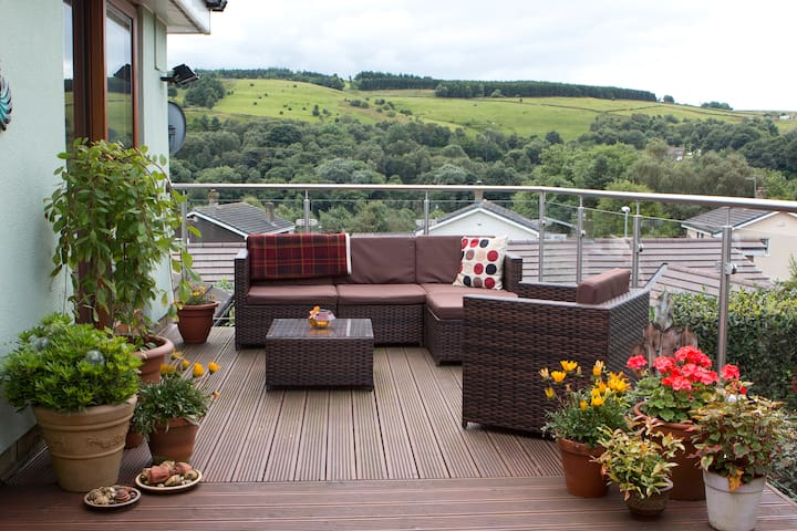 Comfy B&B in peaceful  location with lovely views - Dobcross - Inap sarapan