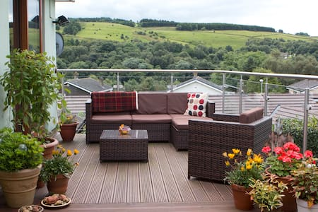 Comfy B&B in peaceful  location with lovely views