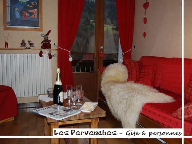 """Gite """"Les Pervenches"""" 6 pers près de La Clusaz 3*"""