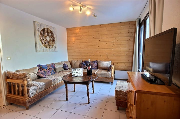 AT THE FEET OF THE SLOPES - 2Bedrooms WITH BALCONY