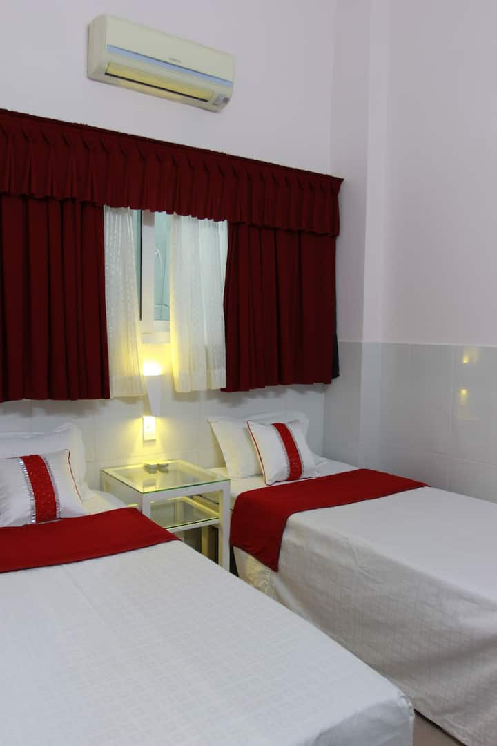 Bui Vien st Budget room-Quang Guest House