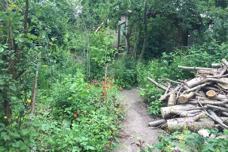 Flagmount Wild garden