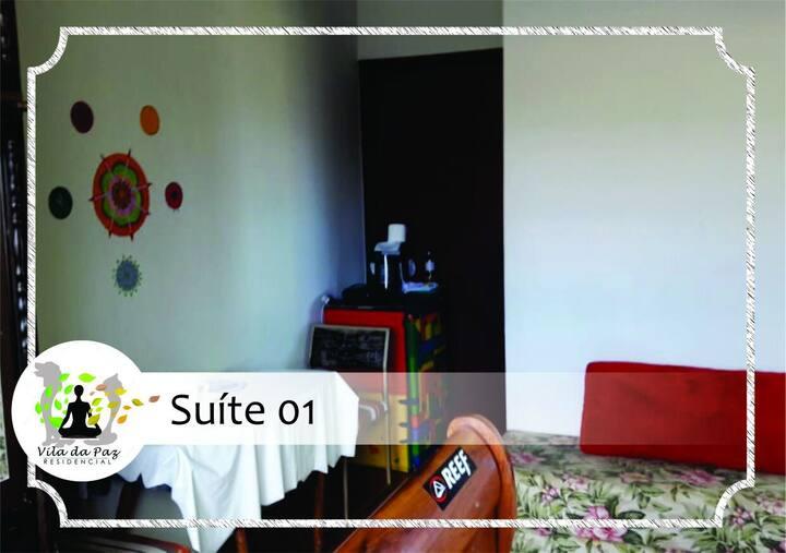 Apto 01 - Suite (3 pessoas)