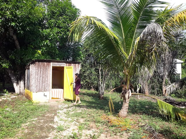 Small cabanas with shared bathroom - Sarteneja