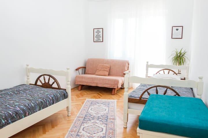 Triple bedroom - Adriatic view