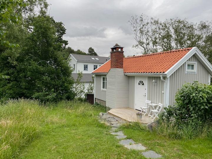 Mysigt hus nära Göteborg, bad & restauranger