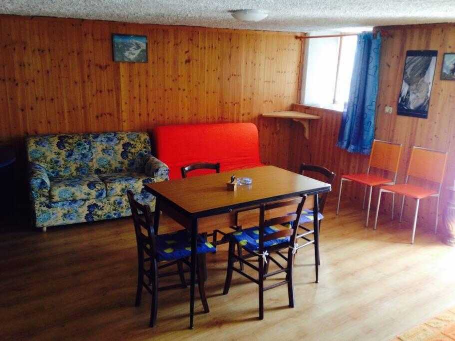 Il soggiorno The living room