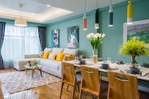 Bright & Colorful 6 Beds Townhouse @ BTS ONNUT