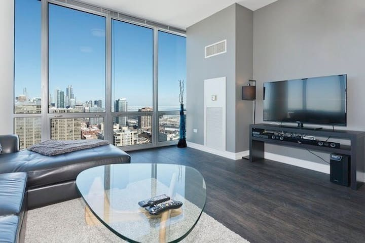South Loop Skyline Views of Downtown Chicago!! - Chicago - Apartment