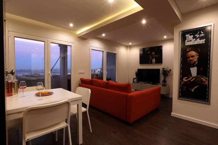 Modern flat with big terrace and stunning view!
