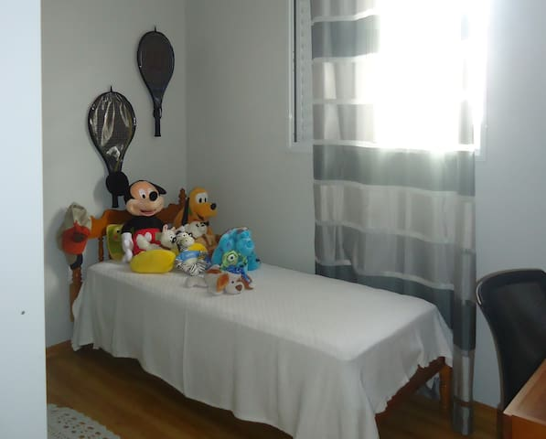 Comfortable room 15 minutes walk from the train st - São Paulo - Byt