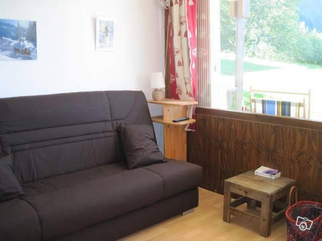 studio montagne - Crest-Voland - Appartement