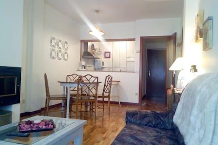 Cálido y céntrico apartamento de montaña - Ezcaray - Byt