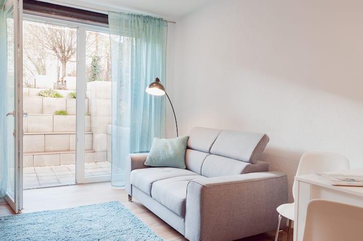Hübsches Appartement: neu, hochwertig ausgestattet