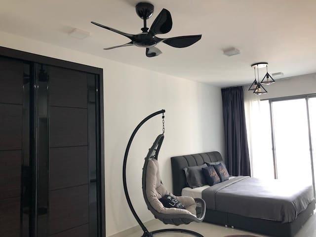 Puteri Harbour Teega Suite Studio-WIFI