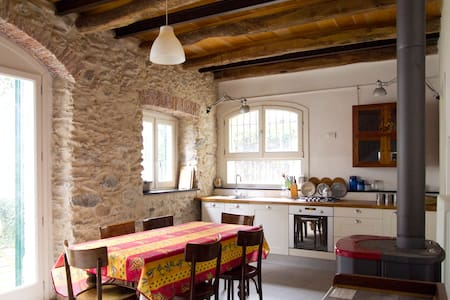 rustico su due piani con giardino - Toirano - Talo