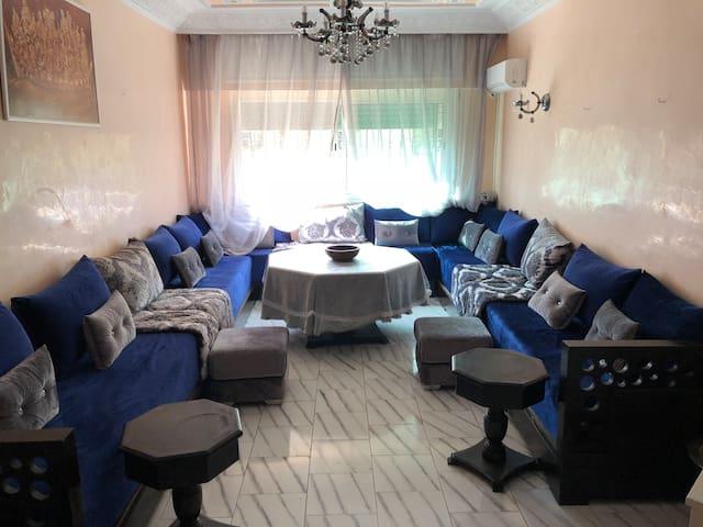 Grand Appart Salé Rabat bien situé résidence calme