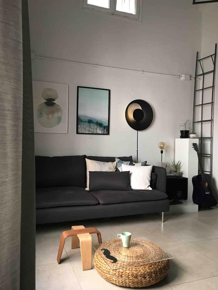 Amazing studio apartment in a great location