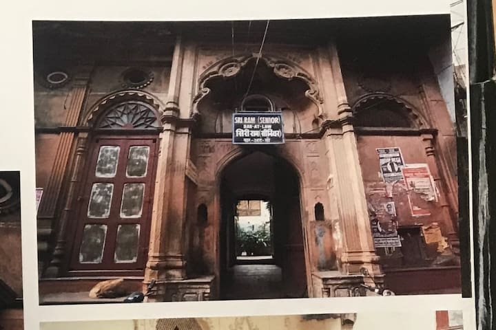 listed as heritage building by govt of India.