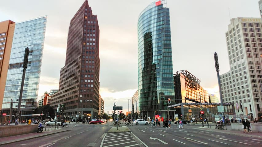 Luxus Apartment Potsdamer Platz / Leipziger Platz