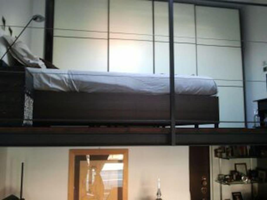 Your loft split 2 levels