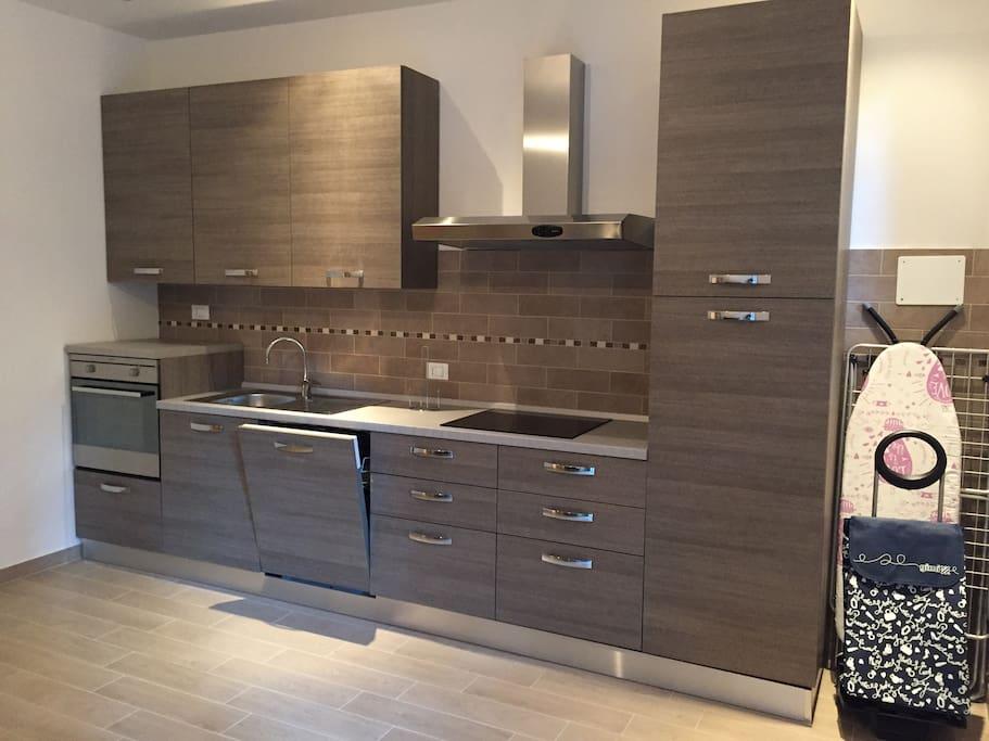 Cucina completa - Kitchen