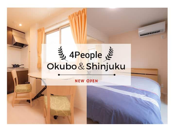 ▼Opening Sale▼5min to JROkubo/New house/Cozy 22