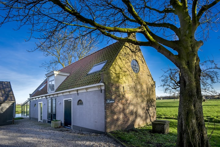 Coachhouse, in nature only 5 km from Amsterdam