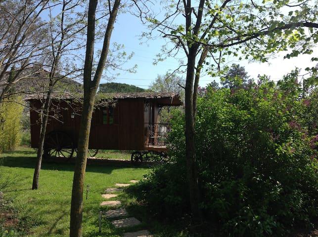 Jolie petite roulotte en Drôme Provençale - La Bâtie-Rolland - Lainnya