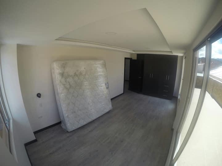 habitacion en departamento nuevo