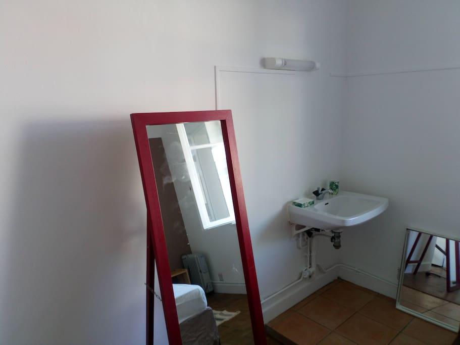 Chambre parentale - espace eau