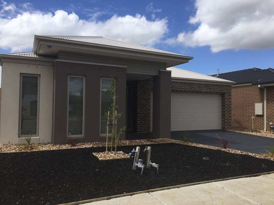 Brand new built, with secure double car garage
