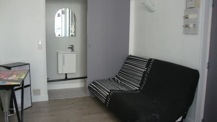 Studio confortable rez-de-chaussée