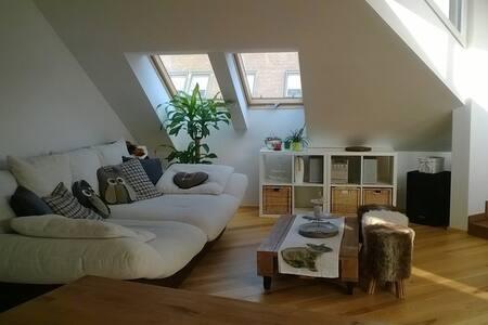 Privatzimmer in moderner  Dachgeschosswohnung