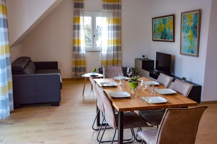 3- Zimmer Wohnung am  Donauradwanderweg