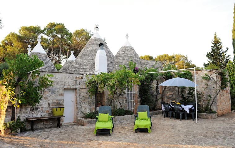 Rustic house by large olive grove - Ostuni