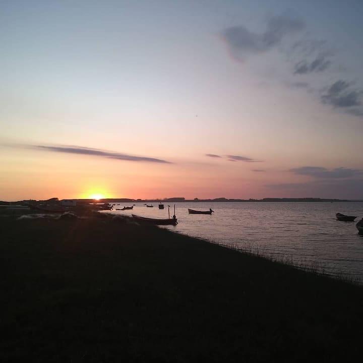 Home of sea. Serena beach.