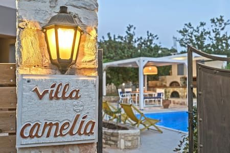 Villa Camellia Rethymno Holidays By the Pool !!! - Atsipopoulo - Βίλα