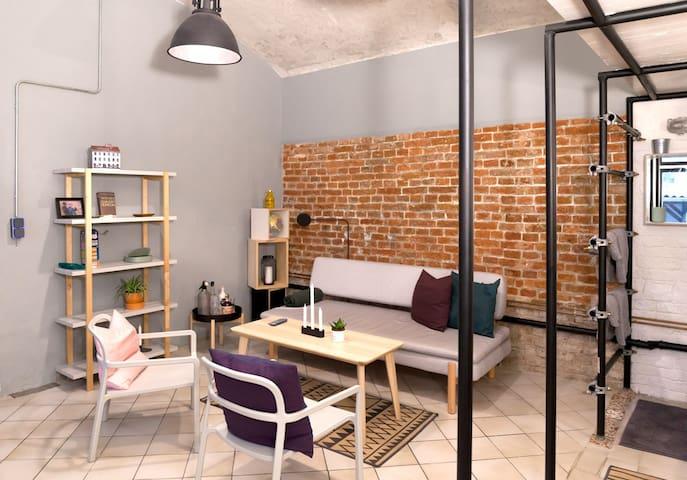 DESIGN LOFT in Streetart House
